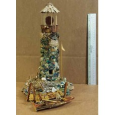 Art; Boatswain's Light (Light House with Dock & Boat)