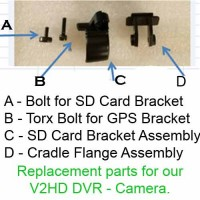 FCamJV2HD GPS Bracket Torx Bolt