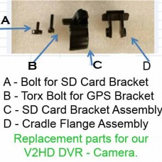 FCamJV2HD SD Card Bracket replacement