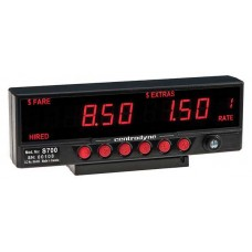 Centrodyne S700 Taximeter - Up To 16 Individual Rates. Low Profile.