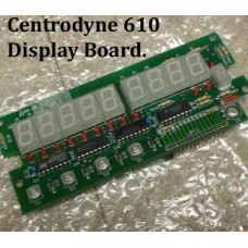 Centrodyne 610 Display Board