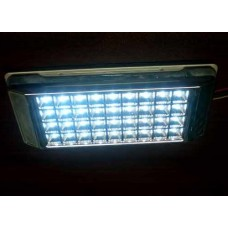Interior LED dome light for map reading