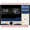 Camera & DVR, covers outside & inside taxicab, day or night