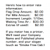 Custom Written Taxi Cab Installation Instructions