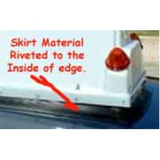 Advertising Rooftop Carrier Water Resistant Skirt Replacement